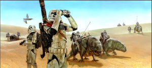 Dewback Patrol by Dave Dorman