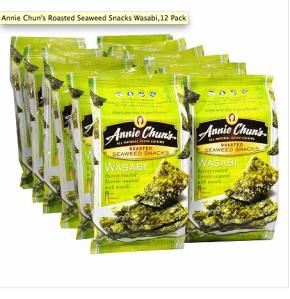 Annie Chun Wasabi Seaweed Chips