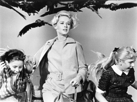 "Alfred Hitchcock's ""The Birds"" - the only Hitchcock film I will NEVER watch."