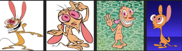 REN of REN & STIMPY, who bears a striking resemblance to Jonesie.
