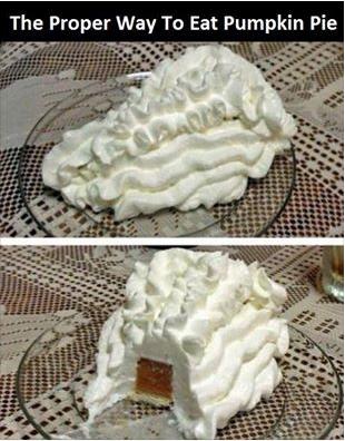 Pumpkin Pie, Denise Style.