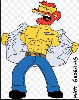 My animated love, Groundskeeper Willie.