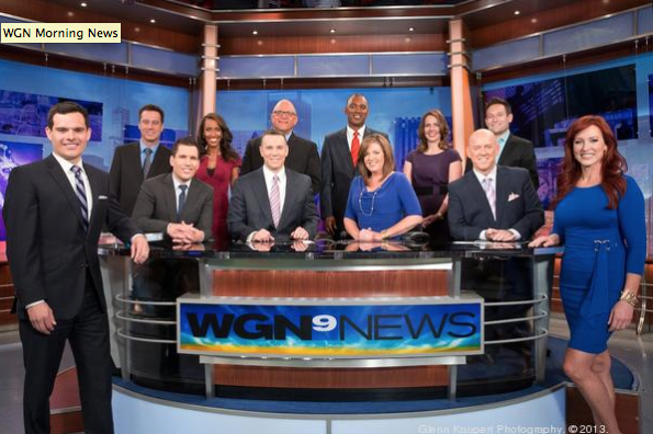 WGN Morning News Crew - The Funniest in the Biz.
