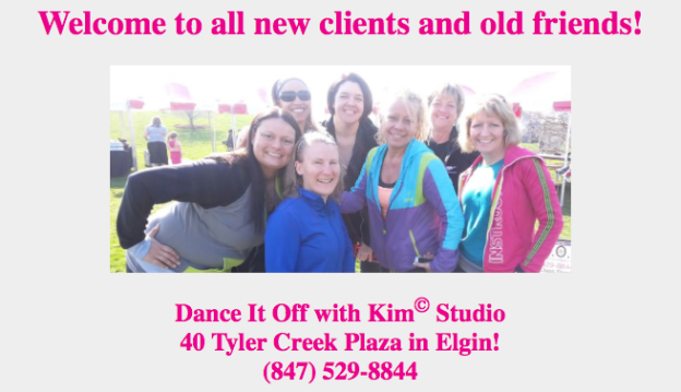 Kim Stover, Founder of Dance It off