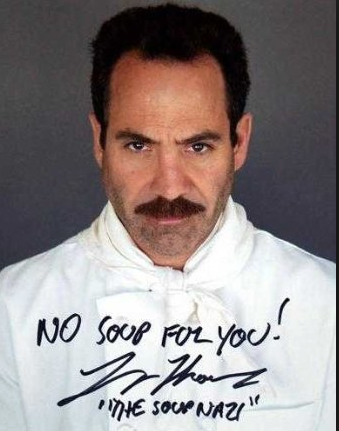 Actor Larry Thomas, the beloved Soup Nazi from Seinfeld
