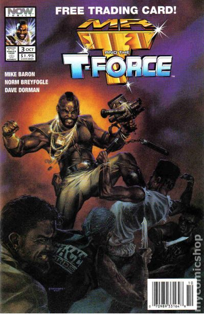 "Dave Dorman Comic Book Cover Art for ""Mr. T and the T Force"""