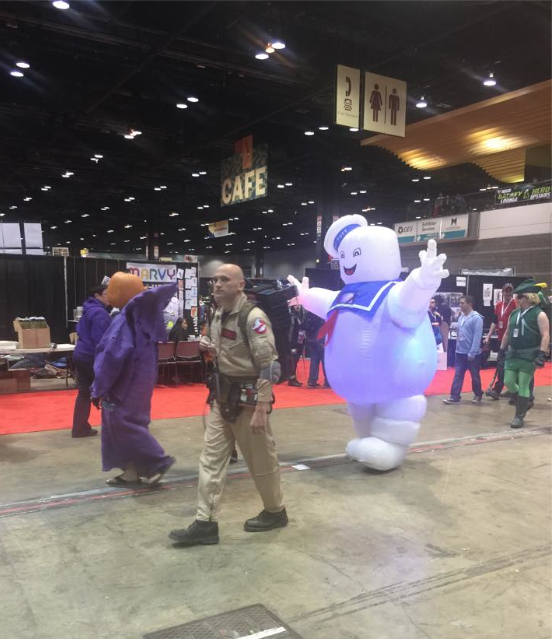 Stay Puft Marshmallow Man at #C2E2 Chicago 2015