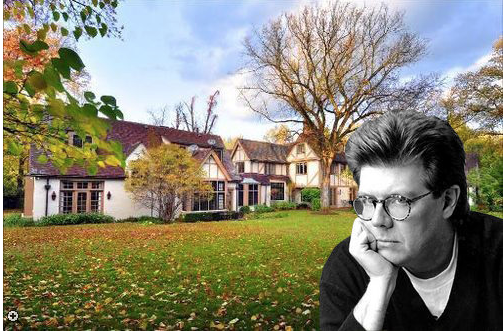 The Lake Forest home of director John Hughes