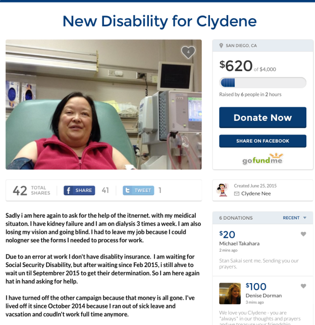 #SDCC2015 Artists' Alley volunteer Clydene Nee needs our help!