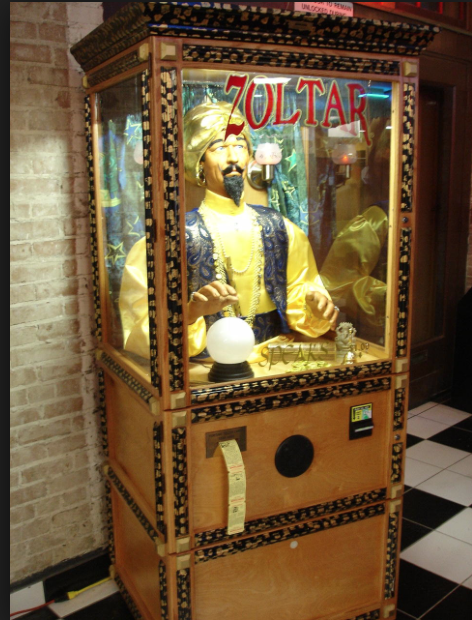 The Ron Jeremy Fortune Teller Machine, Complete with Ron Jeremy's Voice Over.
