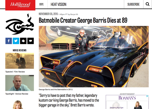 The genius, Mr. George Barris