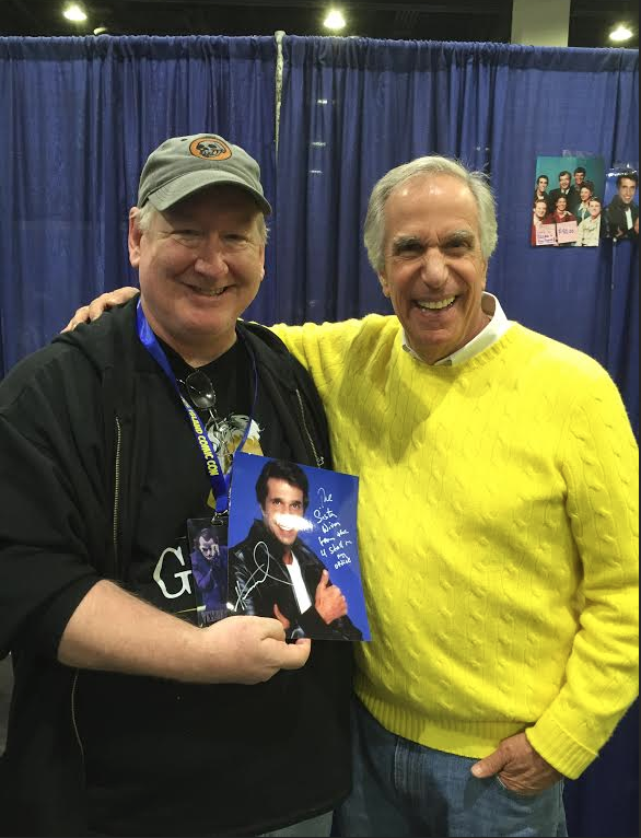 Dave was a good sport, as was Henry Winkler, truly a class act.