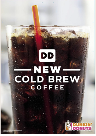 Dunkin' Donuts Cold-Brewed Coffee: Heaven in a plastic cup.